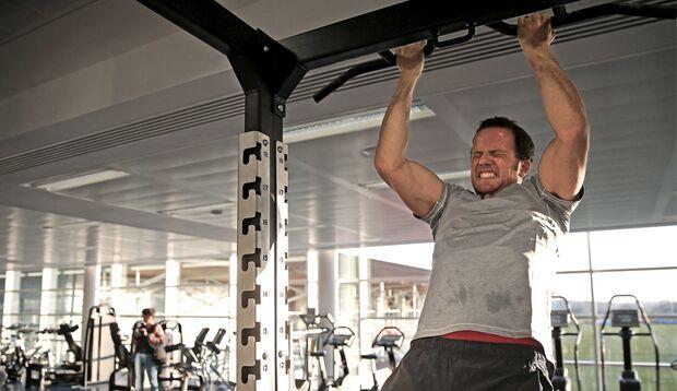 In Sachen Fitness ist Arndt definitiv erstklassig