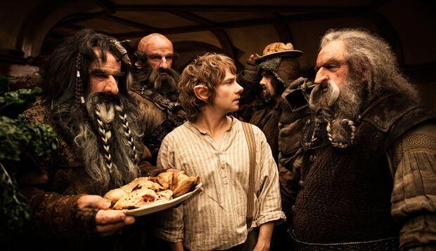 In der Der Hobbit – eine unerwartete Reise werden 13 Zwerge und ein kleiner Hobbit zu großen Actionhelden