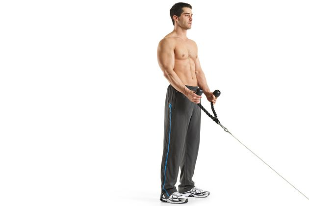 Arme muskelaufbau dünne bekommt man