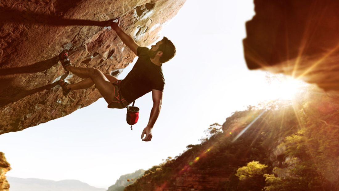 In- und Outdoorsport Bouldern - Draußen erlebt man den besonderen Kick