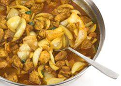 Indisches Curry mit Hühnchen