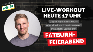 Insta-Live Workout mit Nico Men´s Health