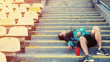 Intensiver Sport bei Erkältung kann noch kränker machen