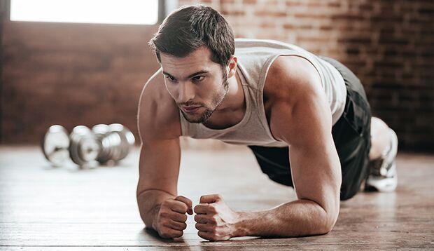 Isometrisches Training: Mehr Muskeln, ohne sich zu bewegen