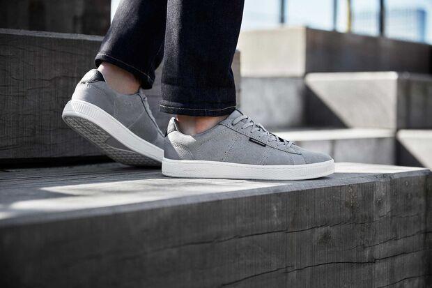 Jack-&-Jones-Sneaker-grau