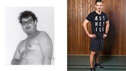 Jan hat 45 Kilo abgenommen