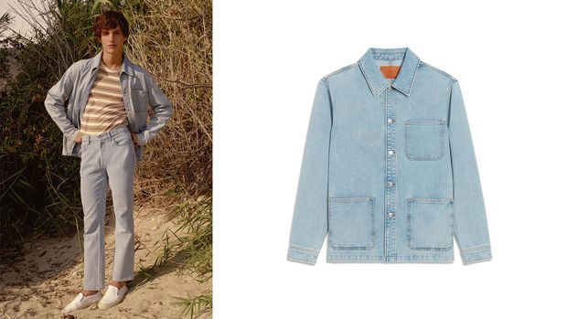 Jeans-Overshirt von Sandro
