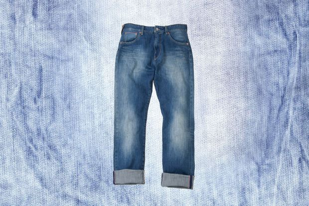 Jeans aus Red Selvedge Denim von Brax