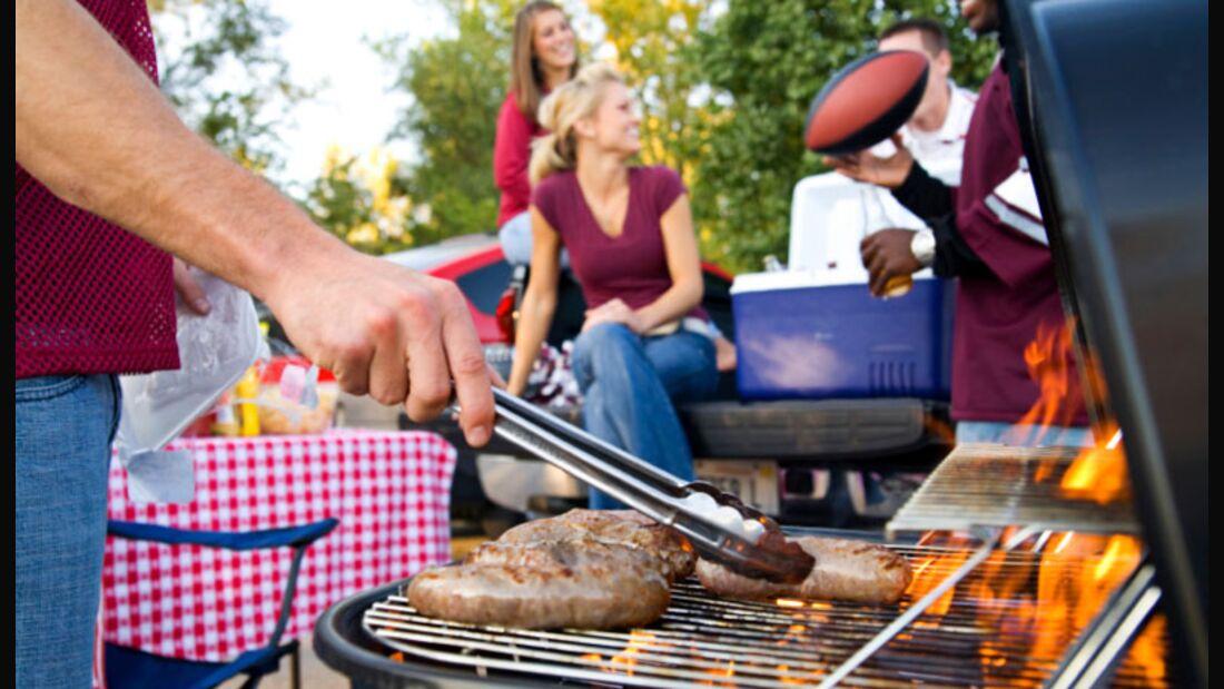 Jeder Partygast isst etwa 350 Gramm Fleisch