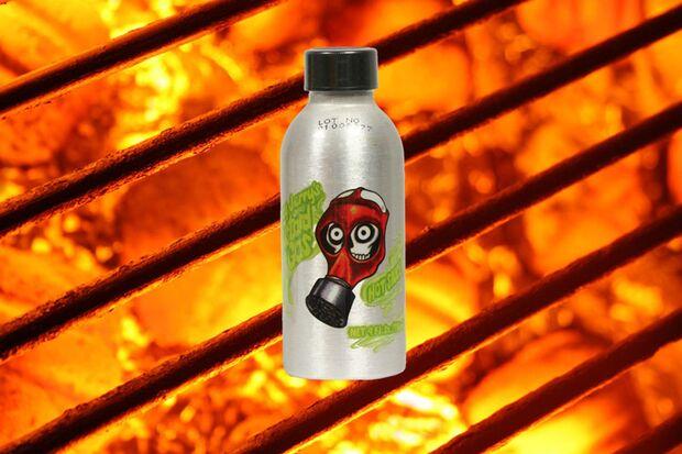 Jerry Hot Mustard Gas Sauce
