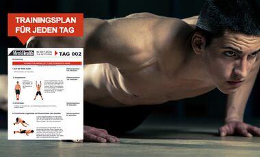 Jetzt downloaden: Ihre persönliche 100-Tage-Bodyweight-Challenge