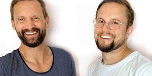 """Jetzt gibt's was auf die Ohren: Im neuen Podcast mit Dad-Redaktionsleiter Marco Krahl und Florian Schleinig von der Online-Community """"Echte Papas"""""""