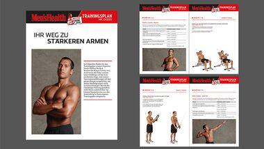 Jetzt runterladen! Der komplette Trainingsplan als Download