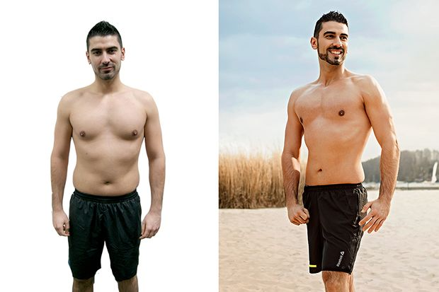 Julian hat in 100 Tagen über 6 Kilo abgenommen