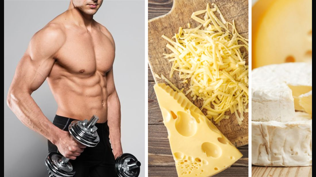 Käse hilft beim Muskelaufbau