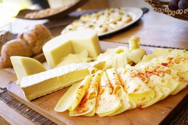 Käsescheiben sind oft dünner als selbstgesäbeltes
