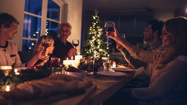 Kalorien sparen an Weihnachten