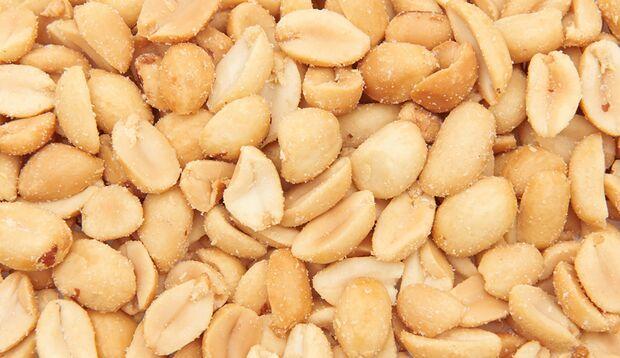 Kalorienbombe: Erdnüsse