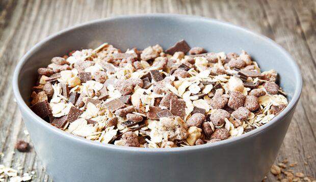 Kalorienbombe: Schokomüsli