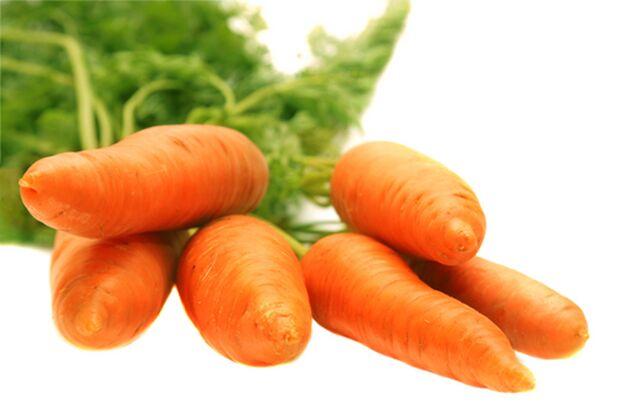 Karotten gehören zur gesunden Ernährung dazu