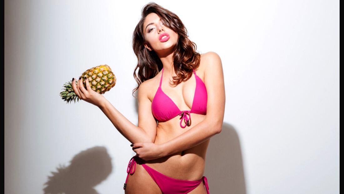 Kennzeichen einer guten Ananas