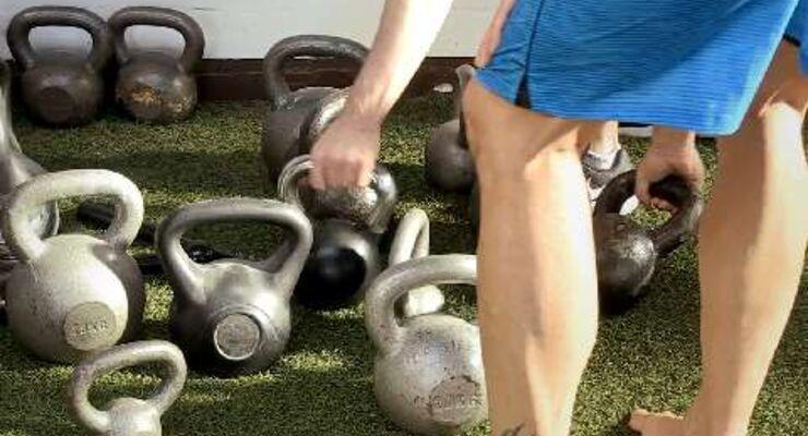 Kettlebell-Training als Fitness-Kurs - der Test