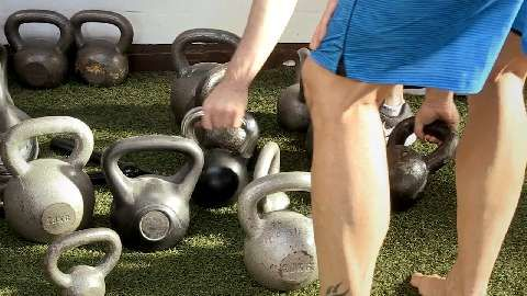 Kettlebell-Training als Fitness-Kurs - der Test