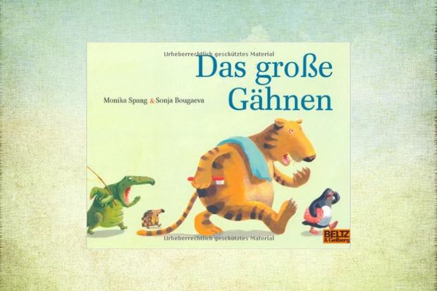 Kinderbuch Das große Gähnen