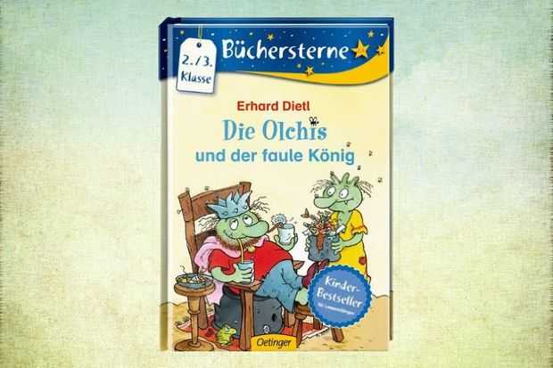 Kinderbuch Die Olchis und der faule König