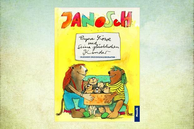 Kinderbuch Papa Löwe und seine glücklichen Kinder