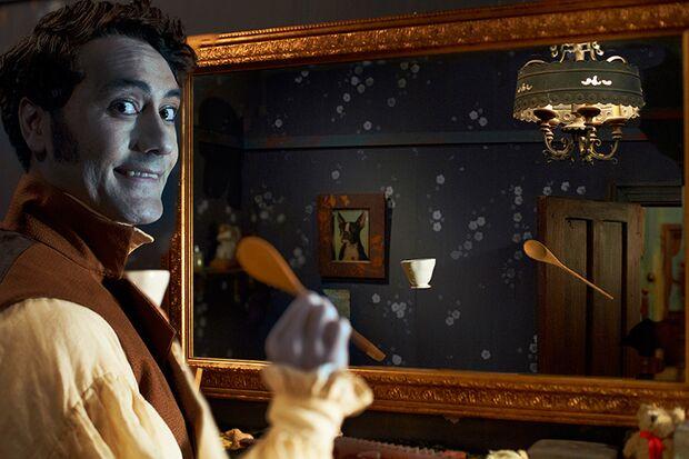 Klassisches Vampir-Problem: Wie soll man sich ohne Spiegelbild stylen?