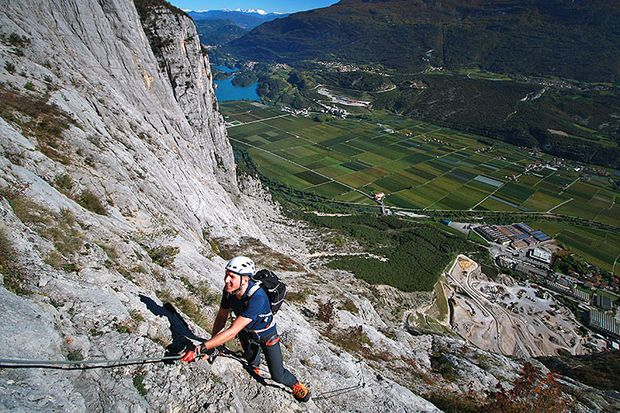 Klettersteiger brauchen eine gut entwickelte Kraftausdauer