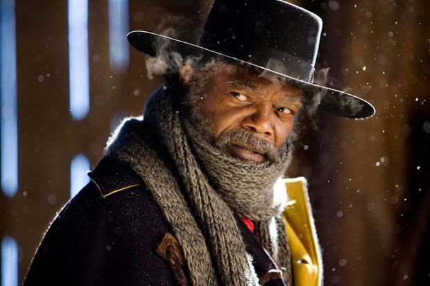 Kopfgeldjäger Warren (Samuel L. Jackson) ermittelt im Agatha-Christie-Stil