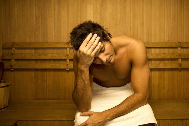 Krank in die Sauna?