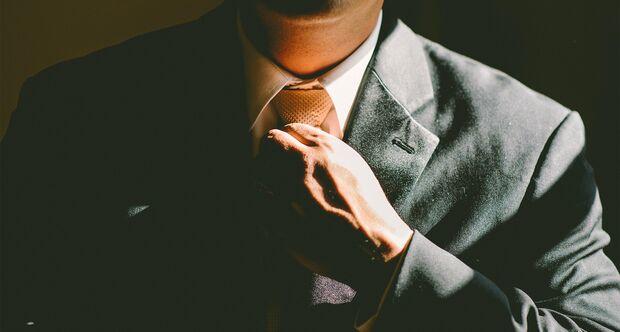Krawatte richtig binden