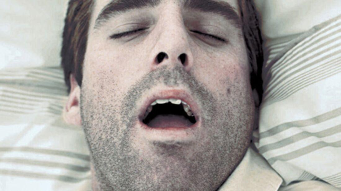 Kriegen Sie nachts den Mund nicht zu?