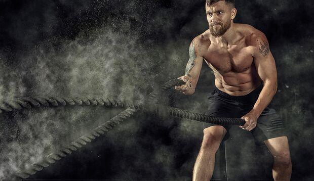 Kurze, knackige Workout-Kicks verleihen Körper und Kondition mehr Kontur