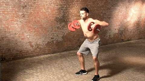 Kurzhantel-Workout für eine breite Brust