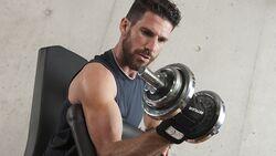 Kurzhanteln stärken den Oberkörper