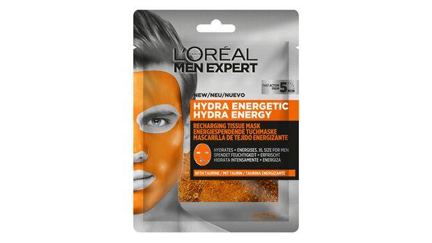 L'Oréal Paris Men Expert Hydra Energy regenerierende Tuchmaske