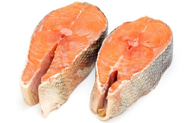 Lachs ist ein besonders gesunder Fisch