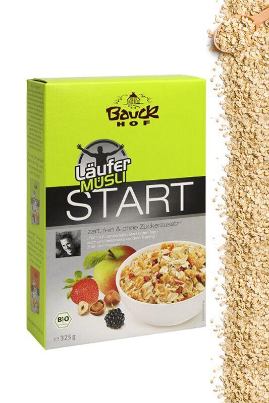 """Läufer-Müsli """"Start"""" von Bauckhof"""