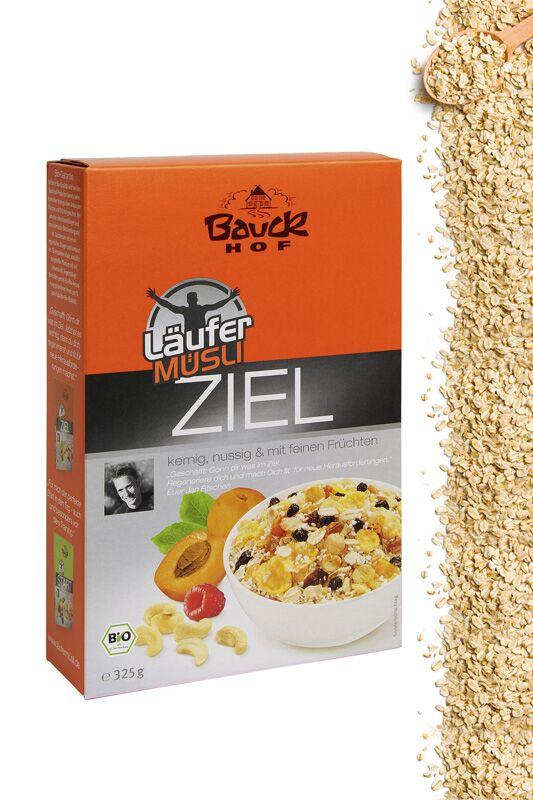 """Läufer-Müsli """"Ziel"""" von Bauckhof"""