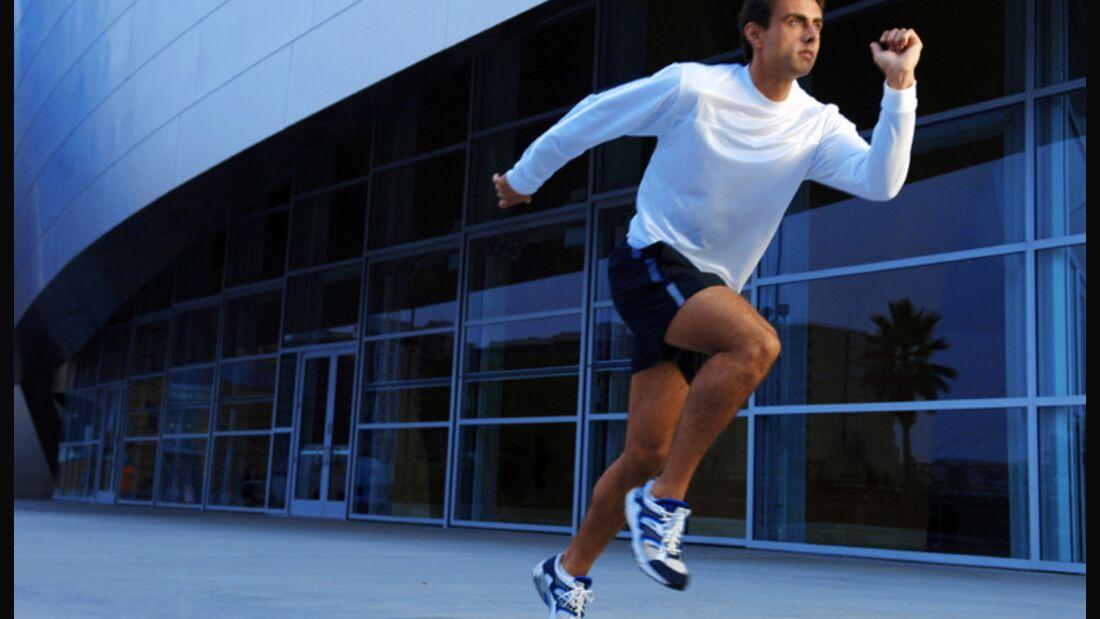 Langsames Laufen verbrennt mehr Fett