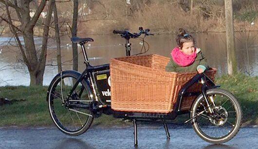 Lastenrad für Kinder: das Bullit