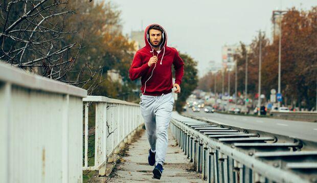 Laufen Sie den Muskelzuckungen einfach davon