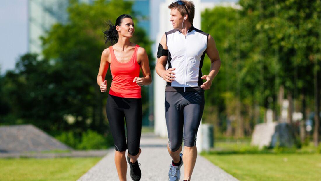 Laufen in der Stadt bietet das optimale Aufwand-Nutzen-Wohlfühl-Verhältnis
