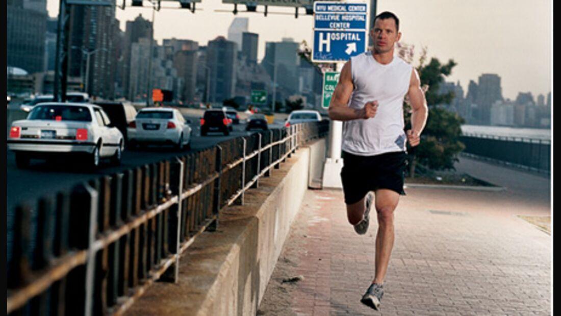 Laufen ist ein idealer Ausdauersport