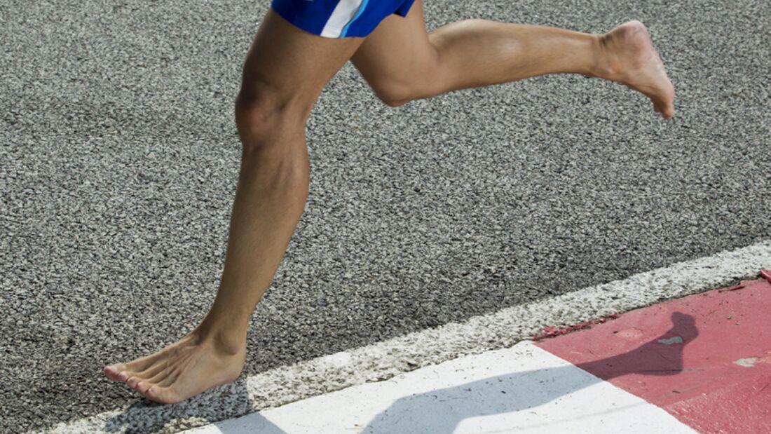 Laufen mit Minimalschuhen fühlt sich an wie barfußlaufen