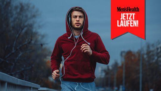 Laufen stärkt das Immunsystem und schützt damit zum Beispiel vor Erkältungen.